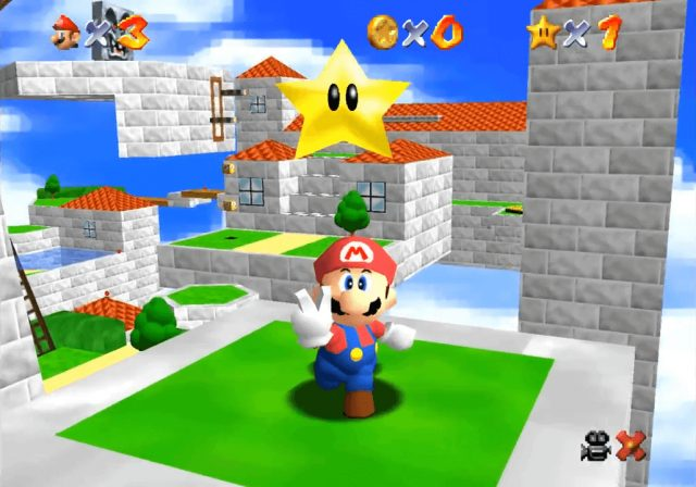 Super Mario Star Road Screenshot