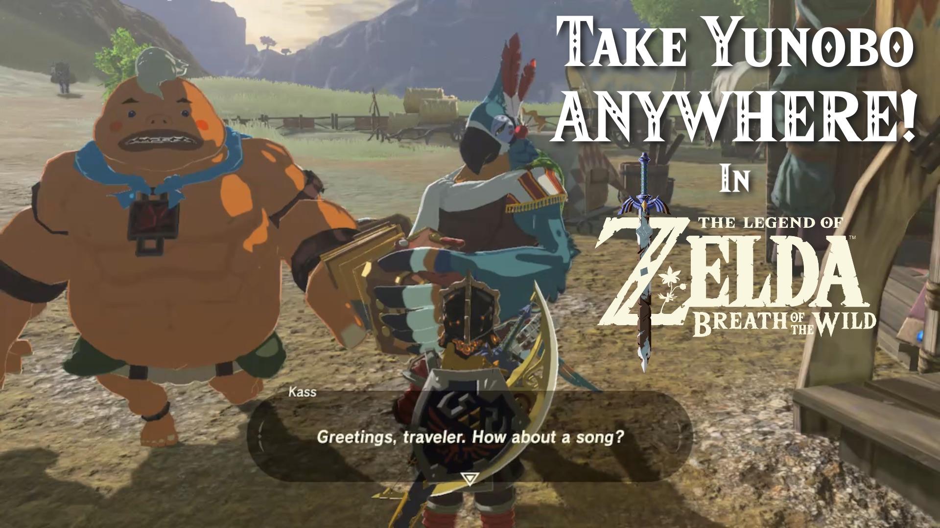 Take Yunobo Anywhere