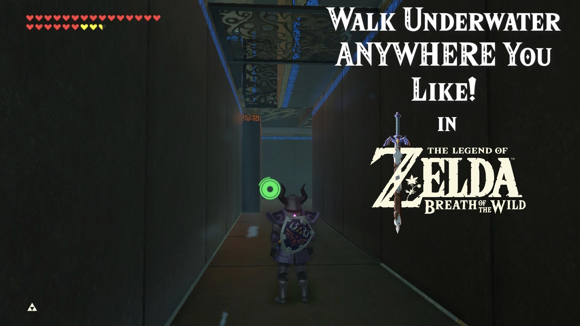 Walk Underwater Anywhere