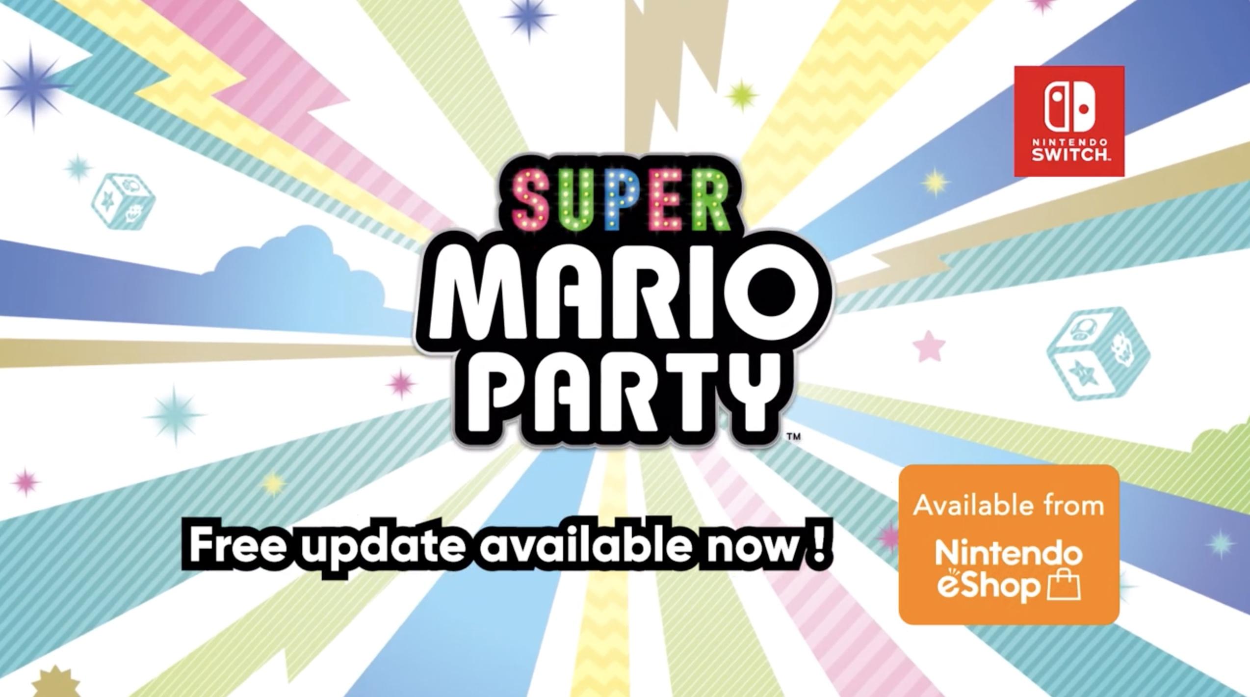 Super Mario Party Update