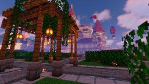 Peach's Castle Garden