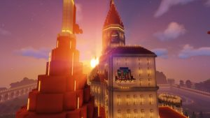Peach's Castle Rooftops