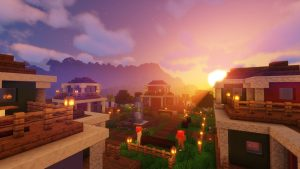 A Sunset at Tarrey Town