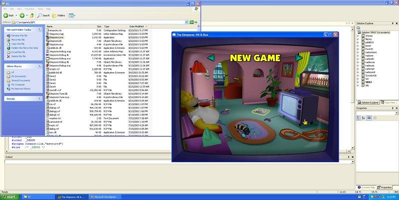 Simpsons Hit & Run Code