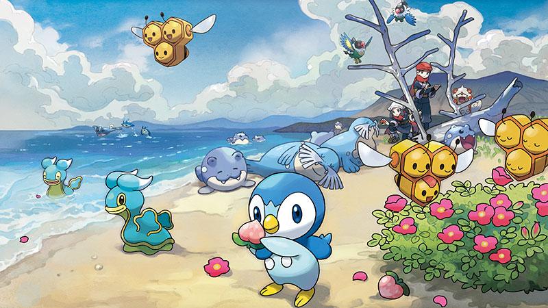 Pokemon Legends: Arceus Artwork