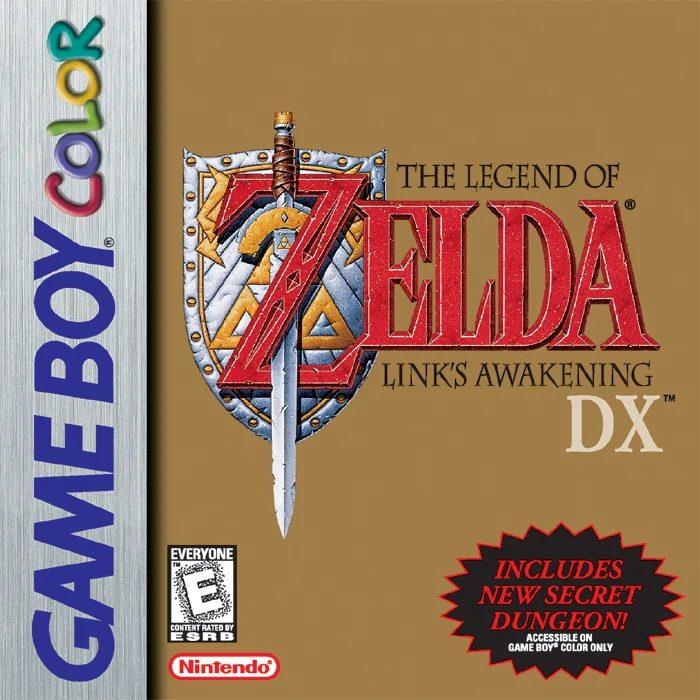 Link's Awakening Box Art
