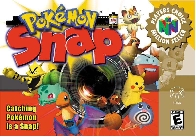 Pokemon Snap Box Art