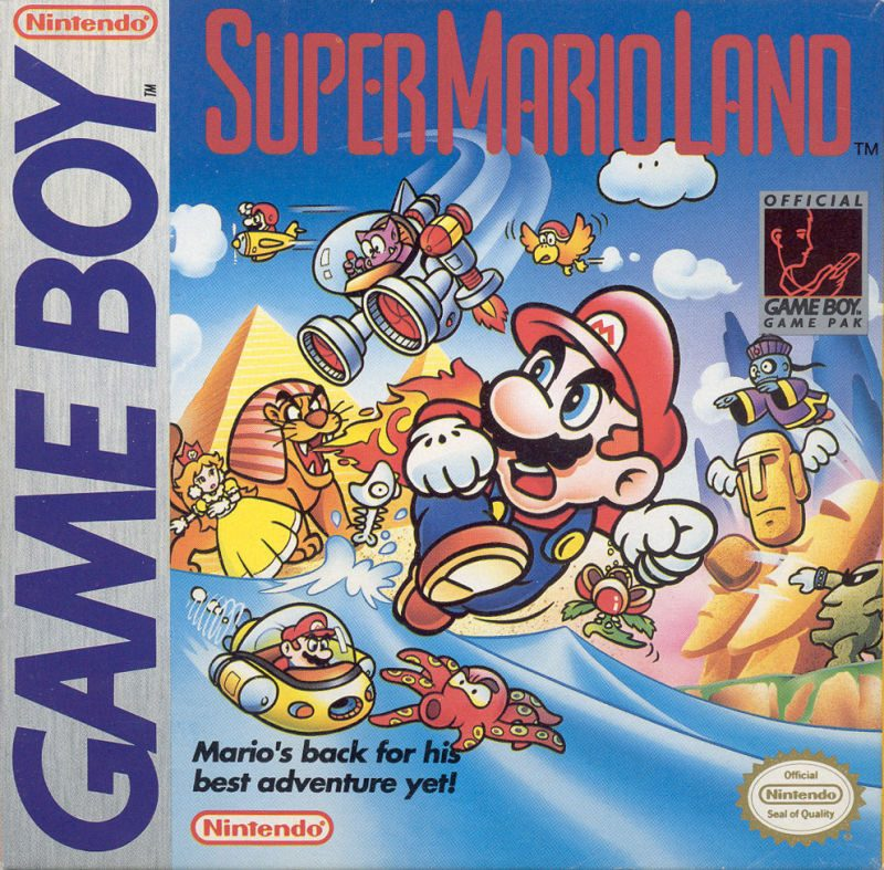 Super Mario Land Box Art