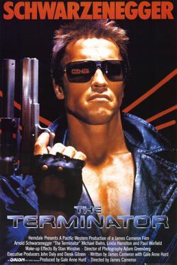 Terminator 1984 movie poster